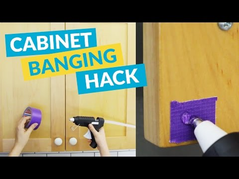 The Quickest Hack To Stop Your Cabinets From Banging!