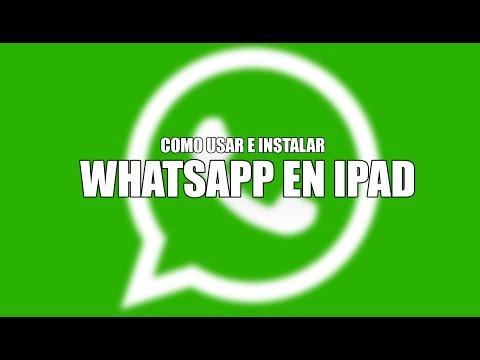 Cómo instalar WhatsApp en iPad con iOS 9 - Con y Sin Jailbreak (2016)