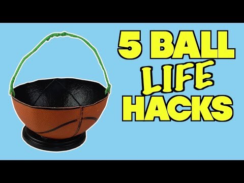 5 Things You Can Do With Balls - HOW TO RECYCLE