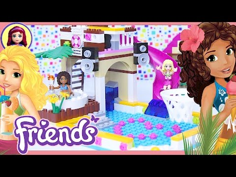 Lego Friends Heartlake City Pool Build Review Silly Play - Kids Toys