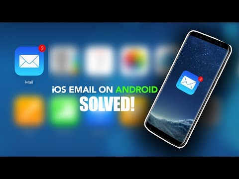 PROBLEM FIXED!  Use APPLE iCloud email  (.me /.icloud) on your ANDROID Device 2017  No download.
