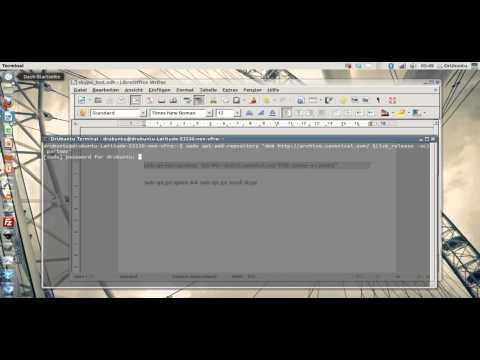 Skype über Terminal Befehle insatllieren - Ubuntu 12.04