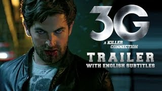 3G (Subtitled Theatrical Trailer) | Neil Nitin Mukesh & Sonal Chauhan