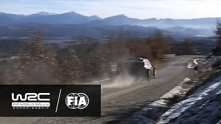 WRC - Rallye Monte-Carlo 2017: HIGHLIGHTS Stages 11-13