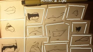 How To Draw Cartoon Mouth 20 Different Ways