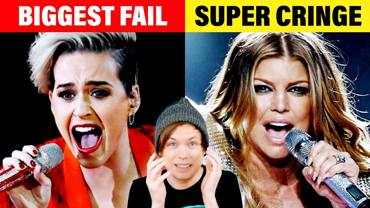 The Most HILARIOUSLY Cringy Live Performances (Part 2)
