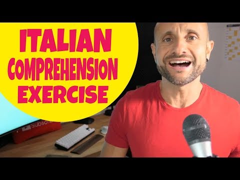 Practice Intermediate and Advanced Italian Comprehension and Conversation EXERCISE [IT]