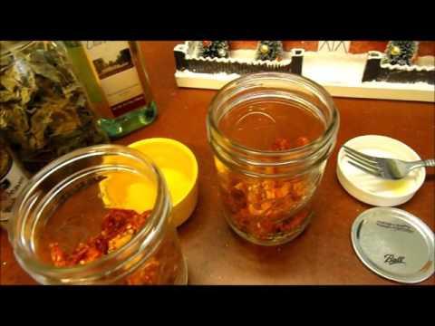 Dried Tomatoes in Olive Oil Nov 2016