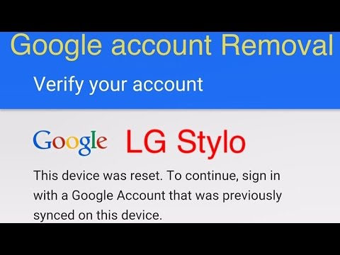New Method 6/7/16 how to remove google account protection lock on LG Stylo on 5.1.1 after hard reset