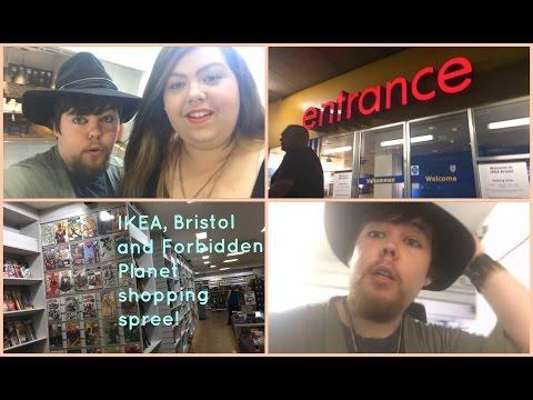 IKEA, Bristol and Forbidden Planet shopping spree!