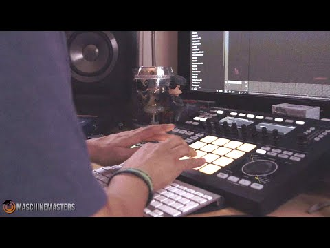 Making the Beat Ep. 21 w Maschine Studio - Rhythm Roulette Style