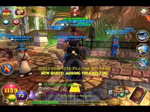 Wizard 101: Mander Minion Quest!