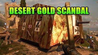 Desert Gold Battlepack Deception! | Battlefield 1 Heavy Tank Legendary Skin