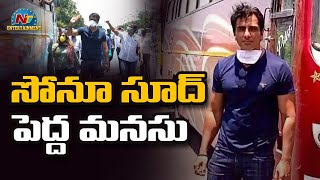 Sonu Sood on helping migrant workers get home | NTV Entertainment