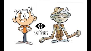 The Loud House characters as Little Nightmares