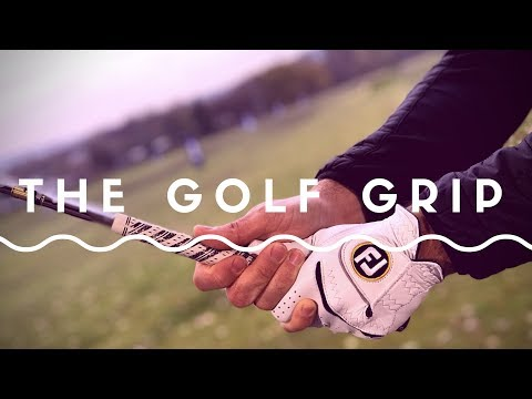 How To Grip The Golf Club and Practice The Golf Grip -  #GolfAlong
