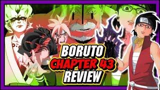 Boruto's Deadly Otsutsuki Transformation & Jougan Unleashed! Boruto Chapter 43 Review!