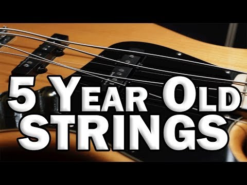 Changing 5 Year Old Bass Strings