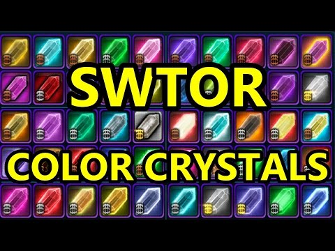 SWTOR - Several More Color Crystals