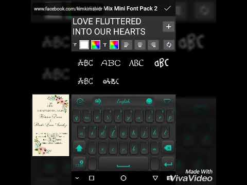 How to make a WEDDING INVITATION CARD using your Android Phone[PICSART]