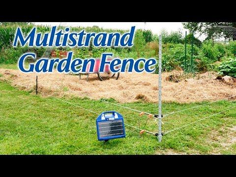 Multistrand Garden Fence