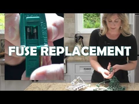 How to Replace a Fuse in String Lights