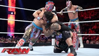 The Usos vs. The Lucha Dragons - No. 1 Contenders' Match: Raw, November 30, 2015