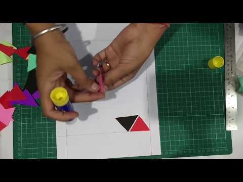 DIY Modern Paper Art | Enjoy Crafting # 62