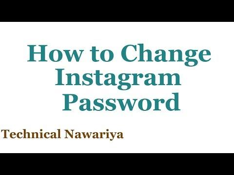 How to Change Your Instagram Password 2018 | How to Reset Instagram Password | 2018