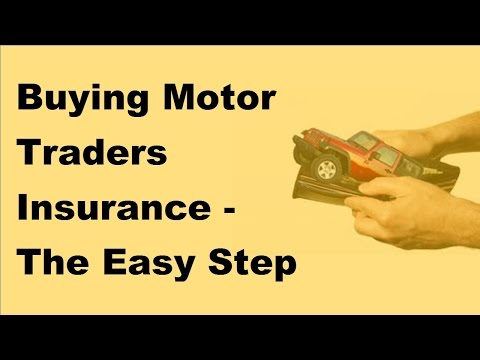 Buying Motor Traders Insurance  | The Easy Step by Step Online Guide   2017 Auto Insurance Basics