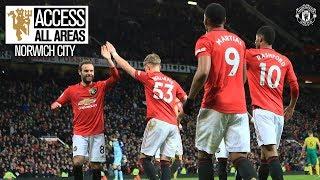 Access All Areas | United 4-0 Norwich | Premier League