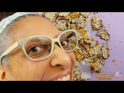 Carla Hall's Chocolate Peanut Saltine Toffee Recipe