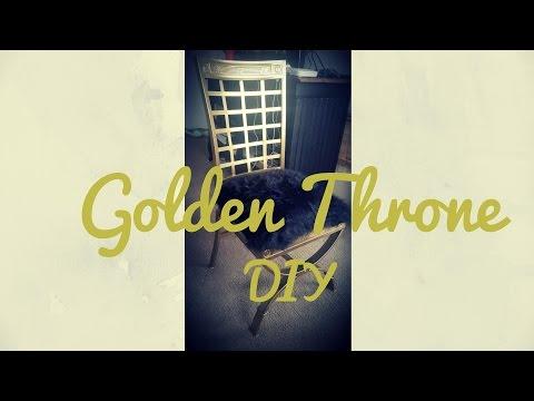 DIY | Golden Throne