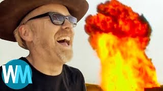 Top 10 Craziest MythBusters Moments