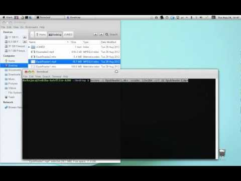 How to compress and join videos in Linux
