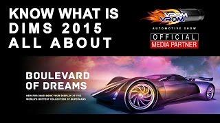 Brief Intro about Dubai International Motor Show 2015 | مقدمة مختصرة عن معرض دبى الدولى للسيارات