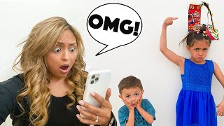 AVA GOES TO SCHOOL FOR CRAZY HAIR DAY AND WE GET BAD NEWS!!