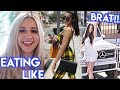 Eating Like The BEVERLY HILLS BRAT For A Day Nicolette Gray