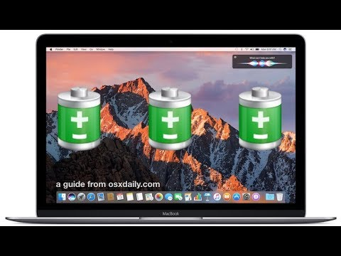How to see health of mac battery EASY!!!!!!