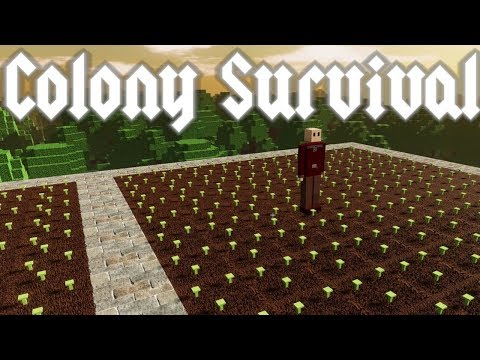 Colony Survival - Better Scurity & Herb Farming! - Episode 11