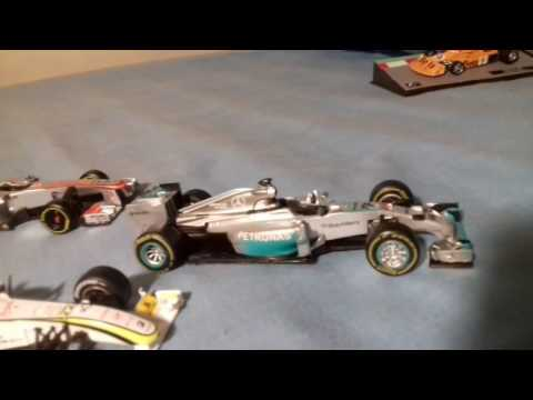 F1 the car collection 22 cars