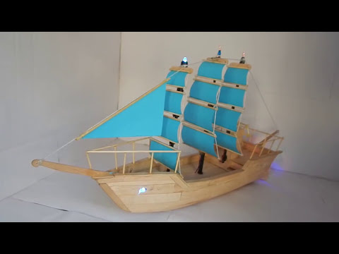 How to Make Amazing Popsicle Stick Ship