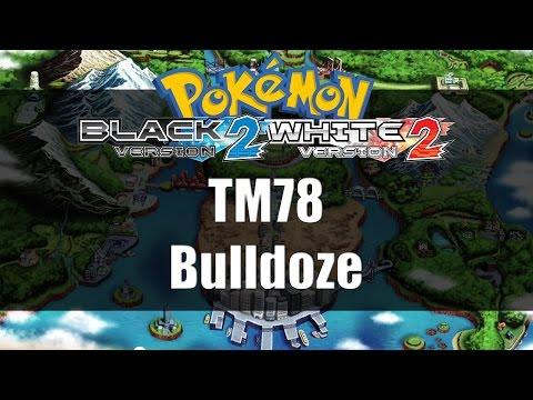 Pokemon Black 2 & White 2 | Where to get TM78 Bulldoze