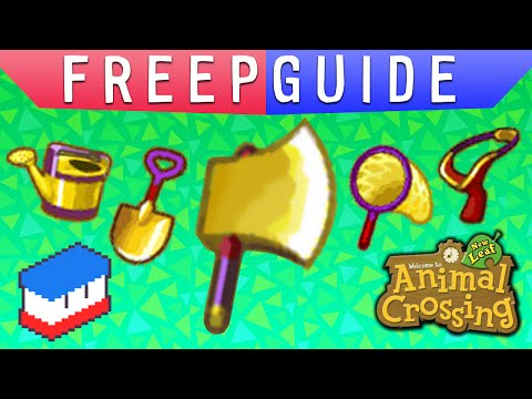 FREEPGUIDE - AC:NL - Gold Tools!