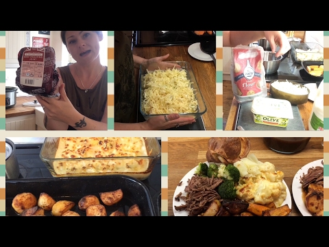 Cook With Me Sunday Roast Beef Dinner