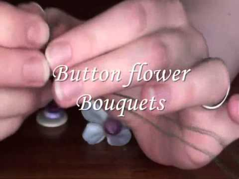 How to make wedding button Bouquet