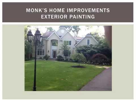 Monk's Home Improvements One Week Exterior Job