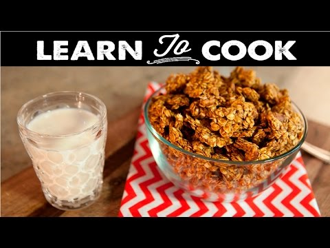 Learn To Cook: How To Make Pumpkin Spice Granola