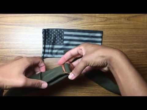How to assemble USMC alpha belt buckle