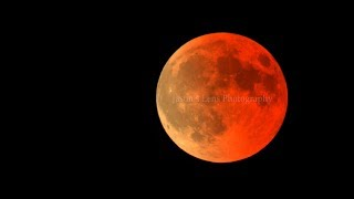 Full Blood Moon Eclipse Transformation timelapse Jan 31st 2018